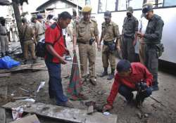 three killed in manipur blast at bus stand