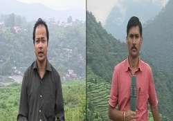 uttarakhand india tv reporters get kudos for daring
