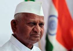 anna hazare says govts afraid only of losing power not