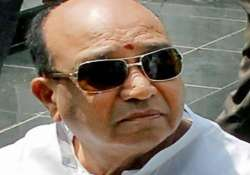 former andhra minister shankar rao admitted to hospital