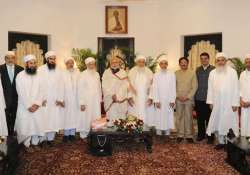 pm modi meets head of dawoodi bohra community