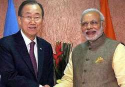 need to send tough message against terrorism modi to united