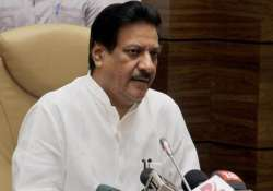 bjp targets prithviraj chavan for naming deshmukh shinde
