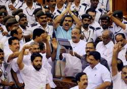 ldf woman mla enjoyed being blocked by kerala minister