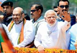 amit shah india s credibility crisis has ended with pm modi
