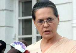 mps ministers must be present in house sonia