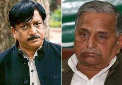 mulayam is doing politics of guilt says shahid siddiqui