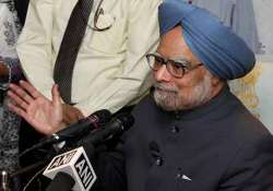 no question of resigning but will speak to rahul says pm
