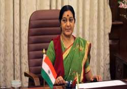 sushma swaraj to visit bangladesh tomorrow