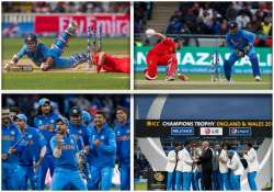champions trophy team india s victory march in pictures- India Tv