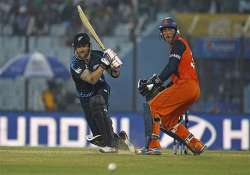 icc world t20 new zealand beat netherlands by 6 wickets.