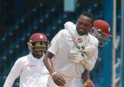 sa vs wi west indies win toss bowls in 1st test vs south