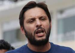 afridi urges team mates to rally for world cup