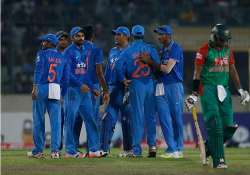 india save face with consolation win over bangladesh