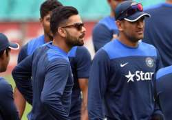 we had no clue dhoni would quit virat kohli