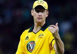 tri series white shaun voges in race to replace bailey