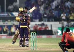 clt20 match 10 unstoppable kkr down scorchers by 3 wickets