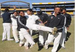 ranji trophy services enter first semi final after 44 years