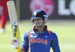 unmukt chand shines bright india u 19 lift 3rd world cup