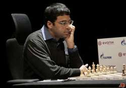 anand in command and a likely contender for carlsen