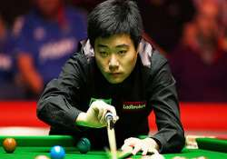 indian open rampaging ding pots snooker title