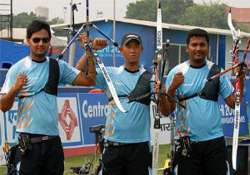 indian men s archery team secure olympic berth