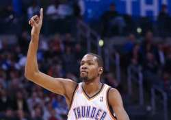 nba durant s triple double carries thunder over wolves