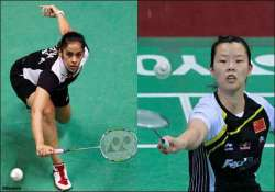 saina xuerui in same group at super series finals