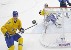 sochi olympics sweden s hockey player backstrom fails