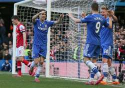 chelsea routs arsenal 6 0 in wenger s 1 000th game