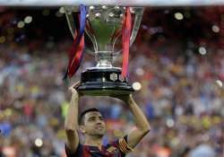 xavi to leave barcelona after 17 trophy filled seasons