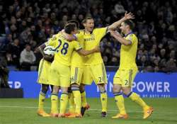 chelsea on the brink of clinching premier league title