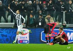 juventus knock out milan from coppa italia