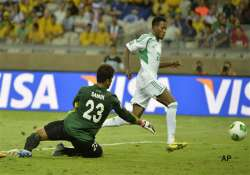missed chances against tahiti trouble nigeria