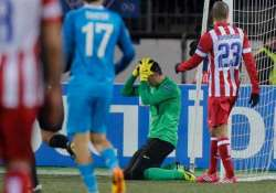 uefa champions league atletico draw with zenit