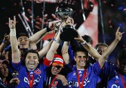 universidad de chile wins copa sudamericana final