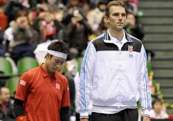 croatia defeats host japan 3 2 in davis cup