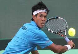 somdev to spearhead davis cup campaign against serbia