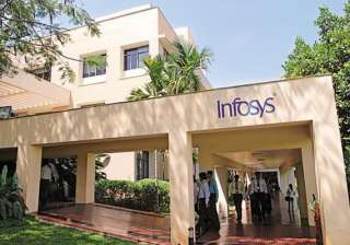 infosys revenue growth rate fell by 77 in mar...