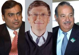 20 richest people in 20 major countries - India TV