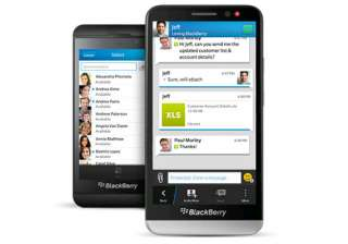 blackberry launches bbm protected for...
