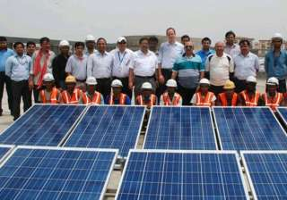 delhi metro launches its first solar power plant...