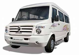 force motors unveils traveller 26 - India TV