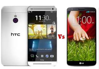 htc one m8 vs lg g2 4g a comparison - India TV
