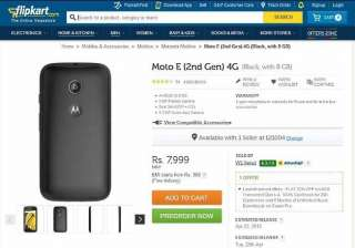 motorola moto e 4g smartphone now available in...