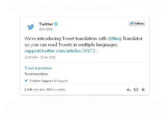 twitter rolls out bing powered tweet translations...