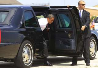 us president barack obama may not travel in the...