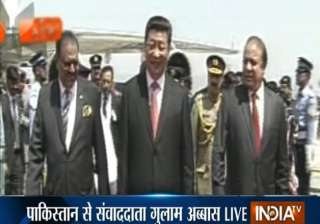 chinese president xi jinping in pakistan - India...
