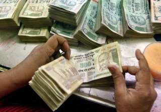 rupee pares initial losses still down 17 paise...