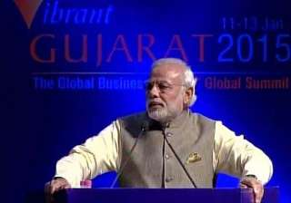 vibrant gujarat 2015 modi promises to make india...